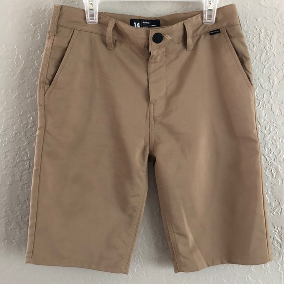 Hurley Other - Hurley shorts Casual beige Youth size 14